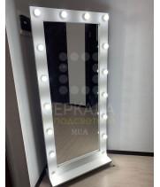 Гримерное зеркало с подсветкой на подставке 175х80